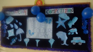 Blue Colour Day Celebrations on 14-10-2017