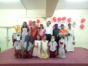 Story Telling Competition  Conducted on 23.06.2018