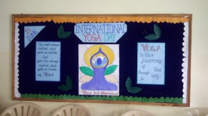 CELEBRATION OF INTERNATIONAL YOGA DAY ON 21st JUNE 2017
